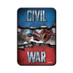 Captain America Civil War Fight with Ironman Fridge Magnet - Multicolor
