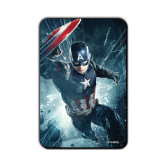 Captain America Civil War Captain in Action Fridge Magnet - Multicolor
