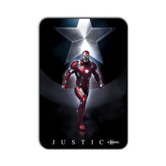 Ironman Civil War Ironman Justice Fridge Magnet - Multicolor