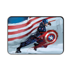 Captain America Civil War Captain Action Animated Fridge Magnet - Multicolor