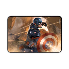 Captain America Civil War Captain Action in War Fridge Magnet - Multicolor