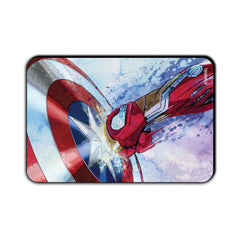 Captain America Civil War Shield vs. Punch Fridge Magnet - Multicolor