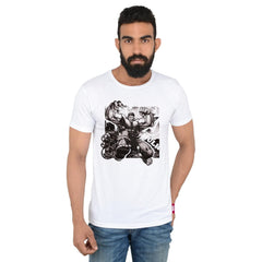 Comic Hulk Radioactive White T-Shirt for Men
