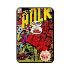 Hulk Comic The Time Strom! Fridge Magnet - Multicolor