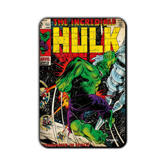 Hulk Comic In Space Fridge Magnet - Multicolor