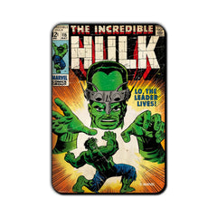 Hulk Comic Lo, The Leader Lives! Fridge Magnet - Multicolor