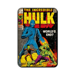 Hulk Comic World's End? Fridge Magnet - Multicolor