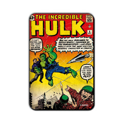 Hulk Comic Gone Berserk! Fridge Magnet - Multicolor