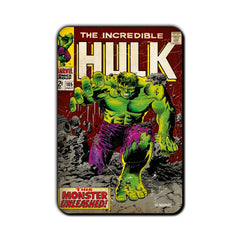 Hulk Comic This Monster Unleashed! Fridge Magnet - Multicolor