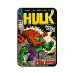 Hulk Comic Above The Earth… A Titan Rages! Fridge Magnet - Multicolor