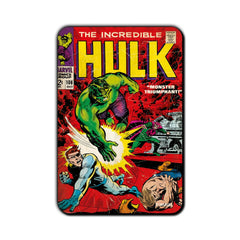 Hulk Comic Monster Triumphant Fridge Magnet - Multicolor