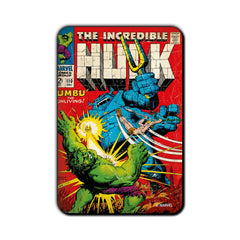 Hulk Comic Umbu The Unliving Fridge Magnet - Multicolor