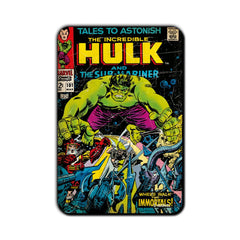 Hulk Comic Tales of Astonish Fridge Magnet - Multicolor