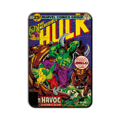 Hulk Comic Havoc Fridge Magnet - Multicolor
