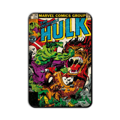 Hulk Comic Incredible Hulk Action Fridge Magnet - Multicolor