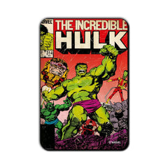Hulk Comic The Big Hulk in Action Fridge Magnet - Multicolor