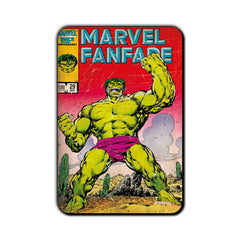 Hulk Comic Fanfare Fridge Magnet - Multicolor