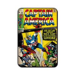 Captain America Comic Cap Battles Fridge Magnet - Multicolor