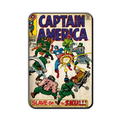 Captain America Comic Slave of The Skull! Fridge Magnet - Multicolor
