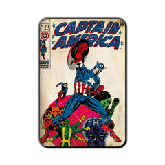 Captain America Comic vs. Villains Fridge Magnet - Multicolor