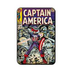 Captain America Comic The Past and Lost Fridge Magnet - Multicolor