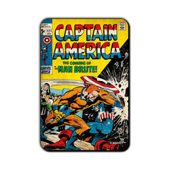 Captain America Comic Man Brute! Fridge Magnet - Multicolor
