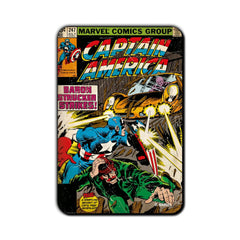 Captain America Comic Baron Strucker Strikes! Fridge Magnet - Multicolor