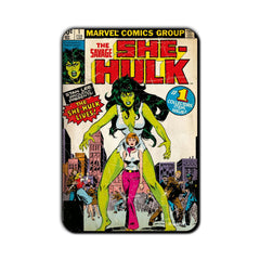 She Hulk Comic The Savage Fridge Magnet - Multicolor