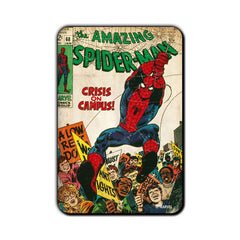 Spiderman Comic Crisis On Campus Fridge Magnet - Multicolor