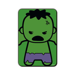 Hulk Comic Kawaii in Anger Fridge Magnet - Multicolor