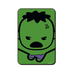 Hulk Comic Kawaii in Action Fridge Magnet - Multicolor