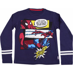 Spiderman Thwip Navy Blue T-Shirt for Kids