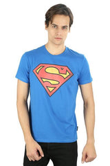Superman Royal Logo Blue T-Shirt for Men