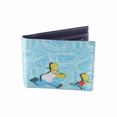 Simpsons I'll Kill You! Satin Wallet for Men and Women - Multicolor