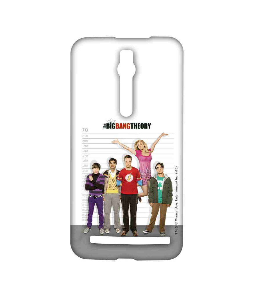 Big Bang Theory Leonard Sheldon Raj Howard and Penny BBT IQ Sublime Case for Asus Zenfone 2