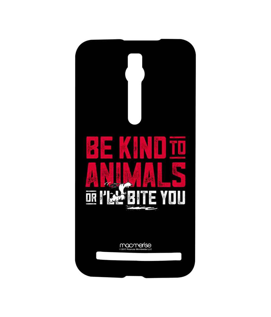 Snoopy Be Kind to Animals Sublime Case for Asus Zenfone 2