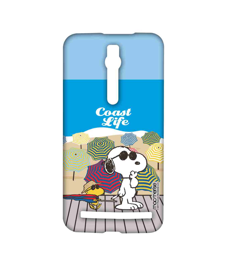 Snoopy Coast Life Sublime Case for Asus Zenfone 2