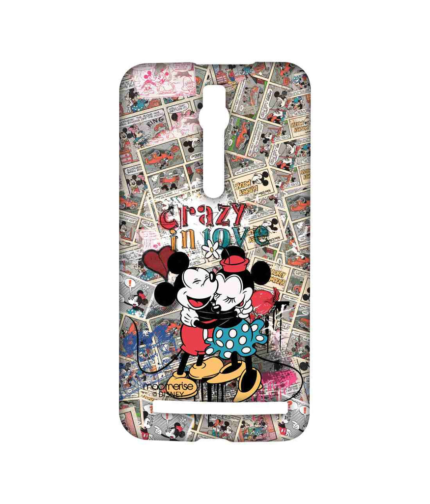 Disney Minnie Mouse and Mickey Mouse Crazy in love Sublime Case for Asus Zenfone 2