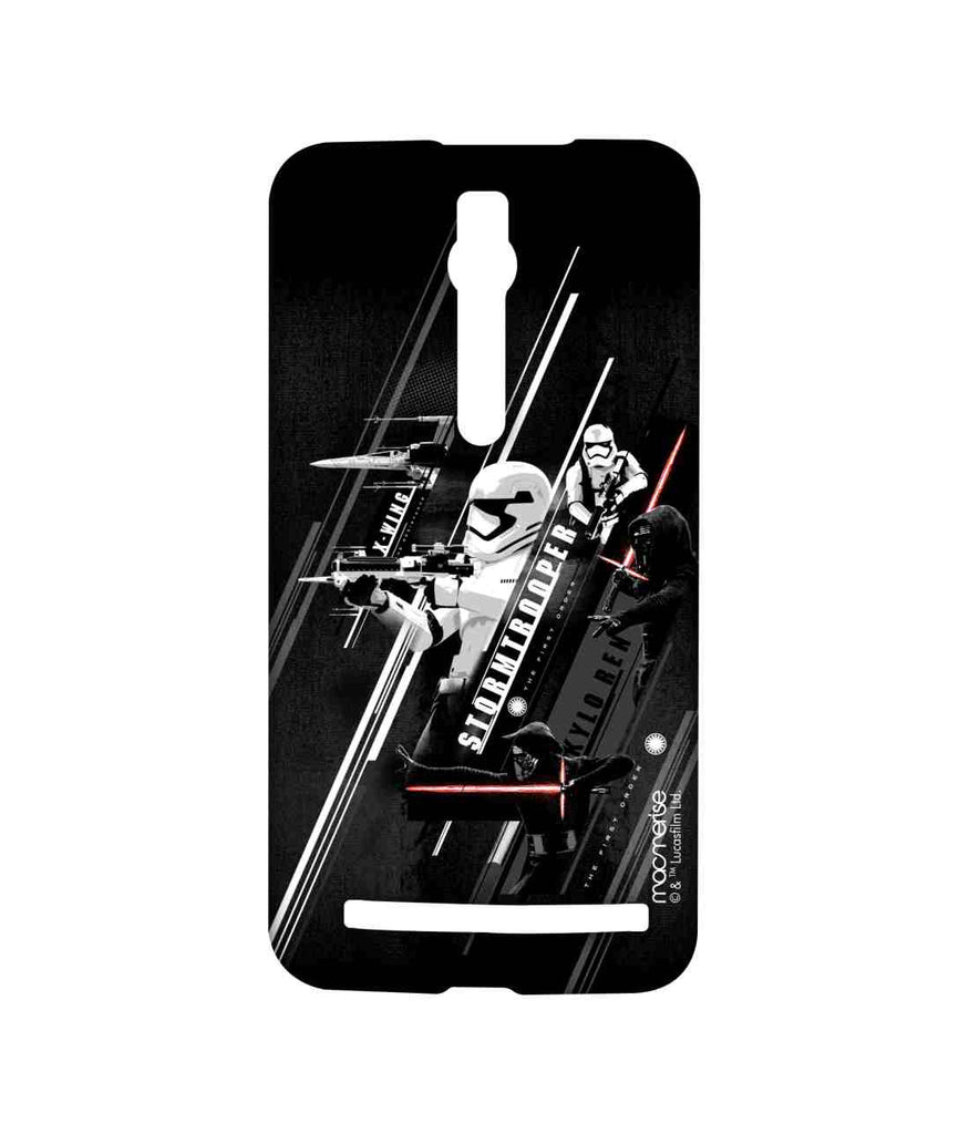 Star Wars Force Awakens Kylo Ren and Stormtrooper Episode VII Sublime Case for Asus Zenfone 2