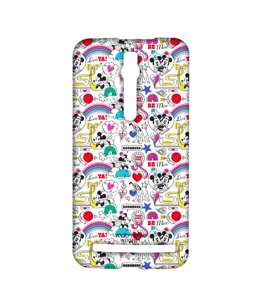 Disney Minnie Mouse and Mickey Mouse Forever Together Sublime Case for Asus Zenfone 2