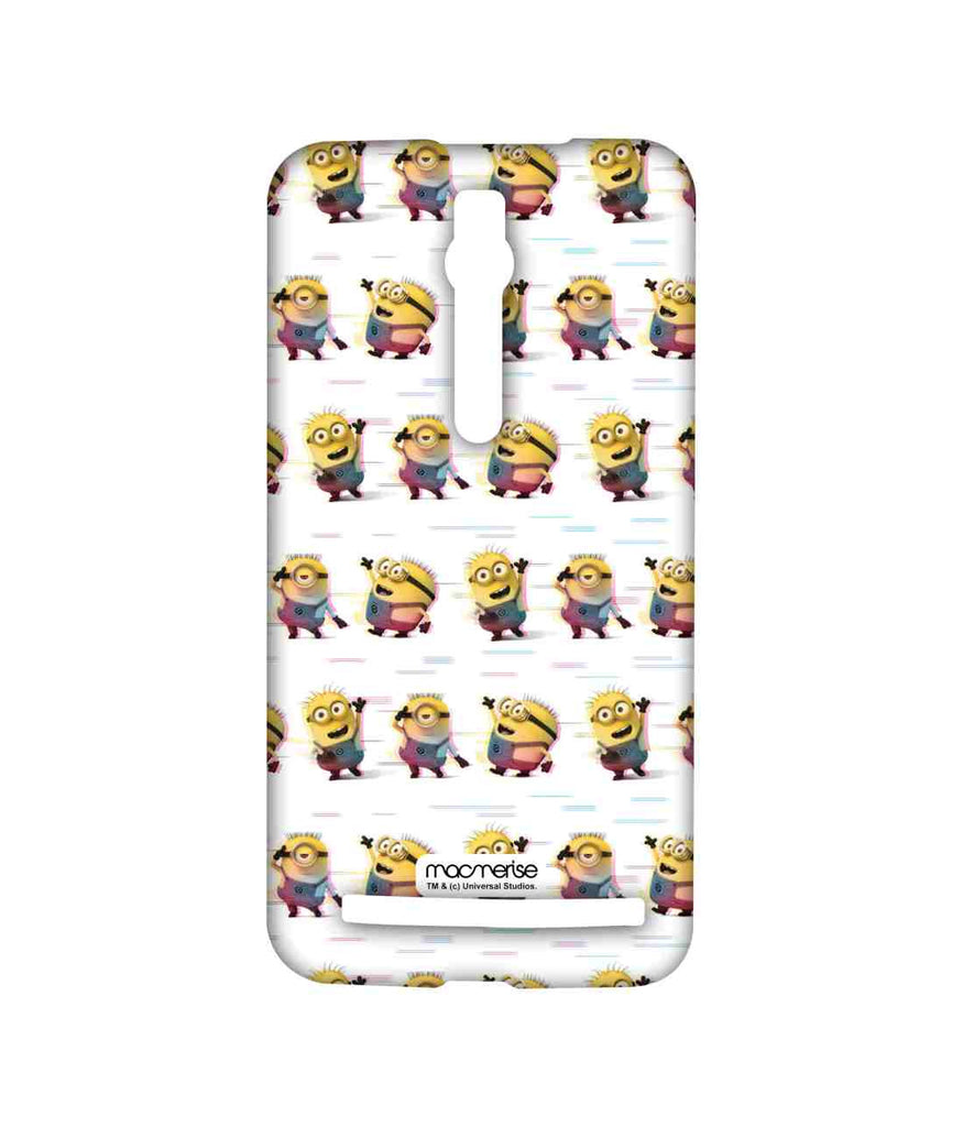 Despicable Me Minions Groovy Minions White Sublime Case for Asus Zenfone 2