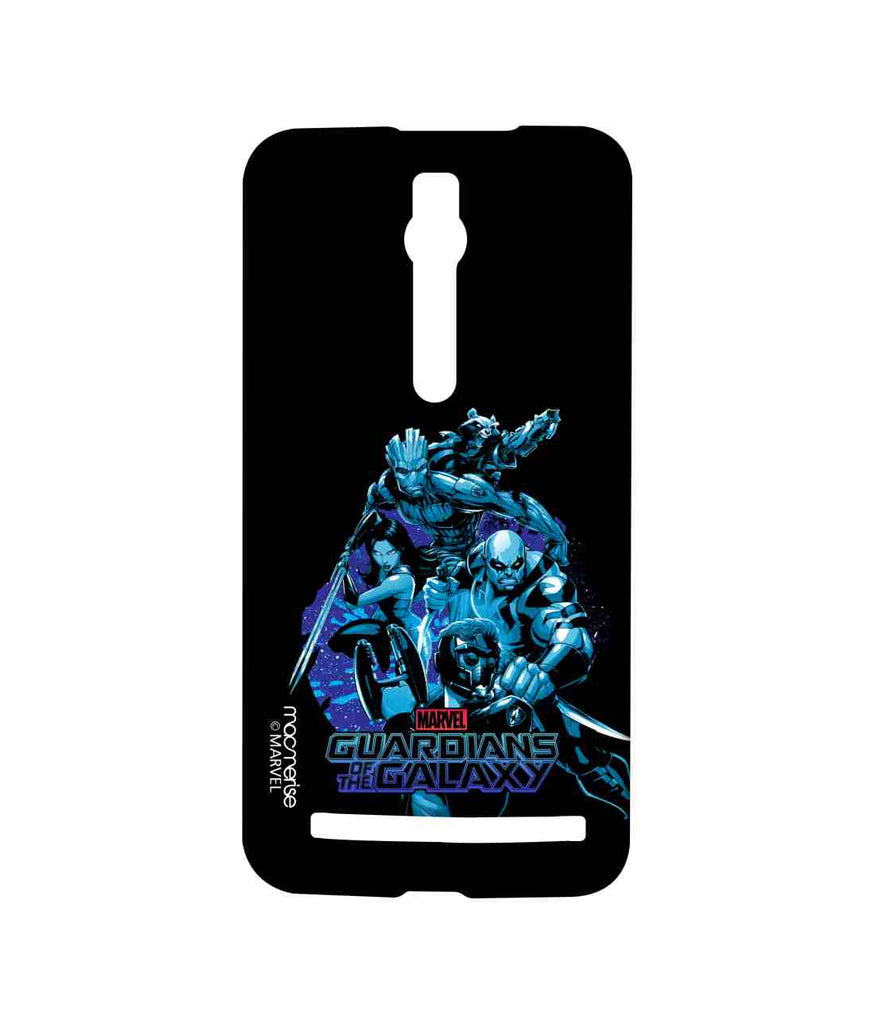 Guardians of the Galaxy Star Lord Groot Thanos Gamora and Rocket Raccoon Guardians Squad Sublime Case for Asus Zenfone 2