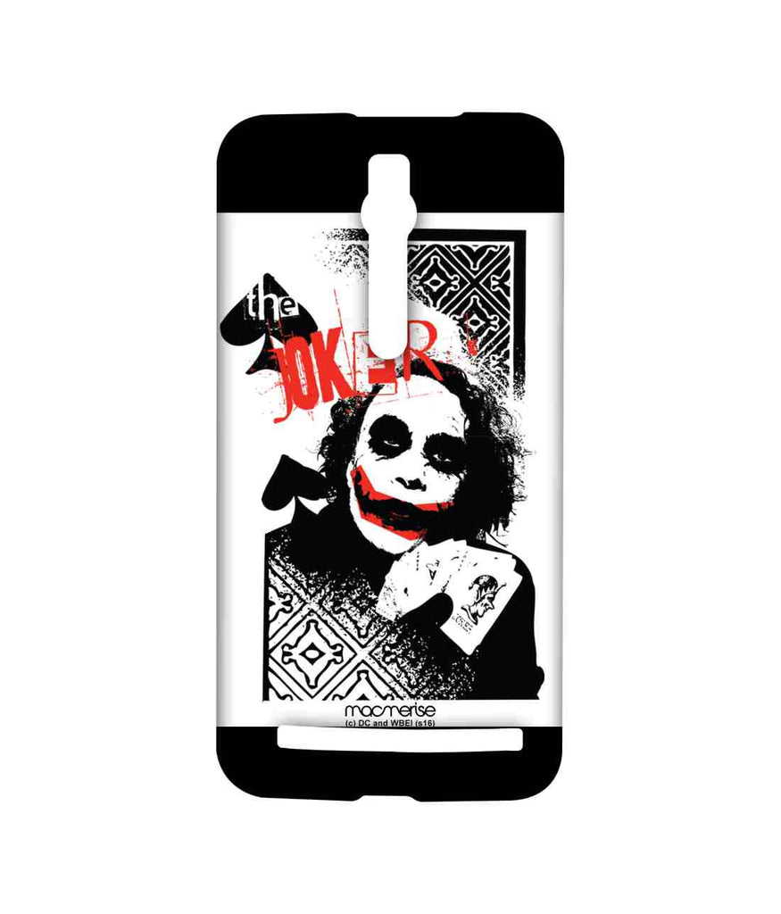Batman The Dark Knight Joker Card Sublime Case for Asus Zenfone 2