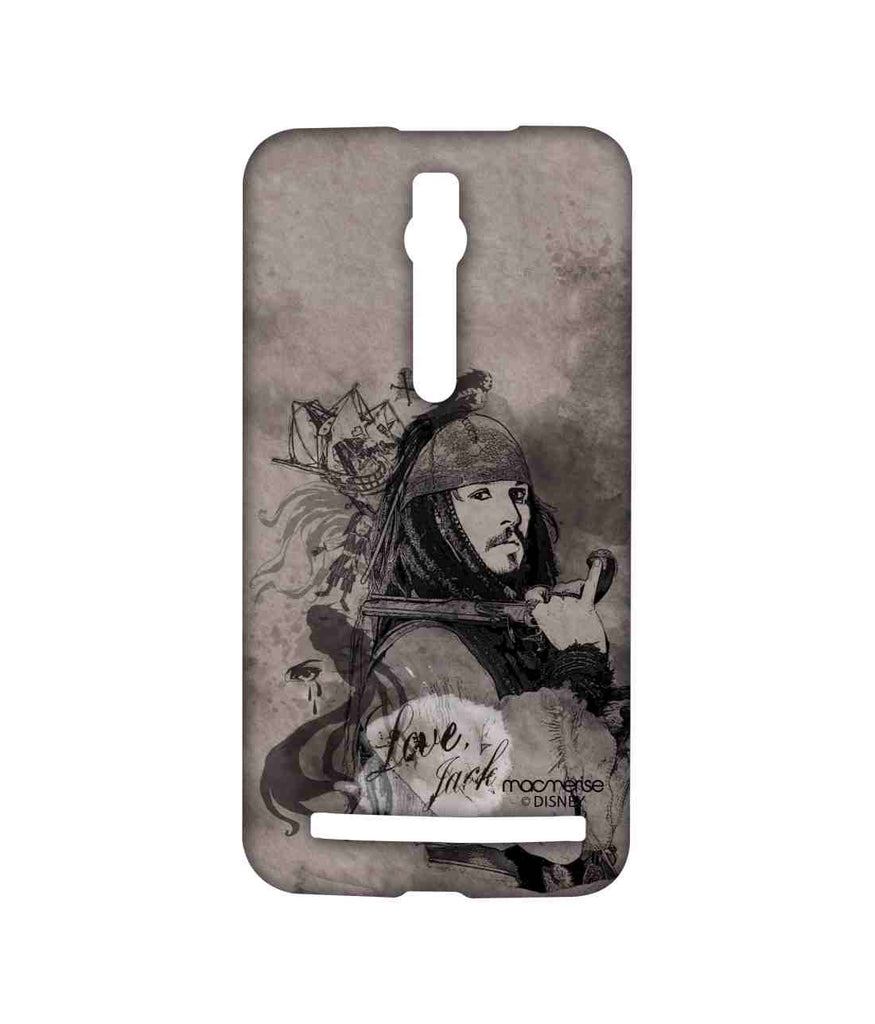 Pirates of the Caribbean Jack Sparrow Love Jack Sublime Case for Asus Zenfone 2
