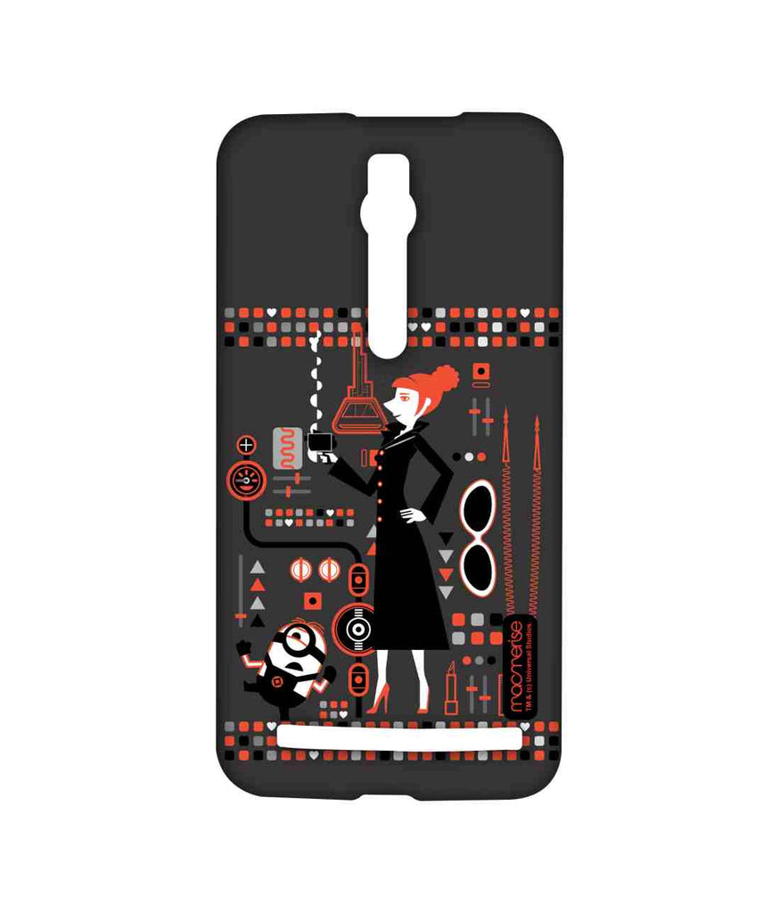 Despicable Me Lucy and Minion Stuart Lucy's Essentials Sublime Case for Asus Zenfone 2