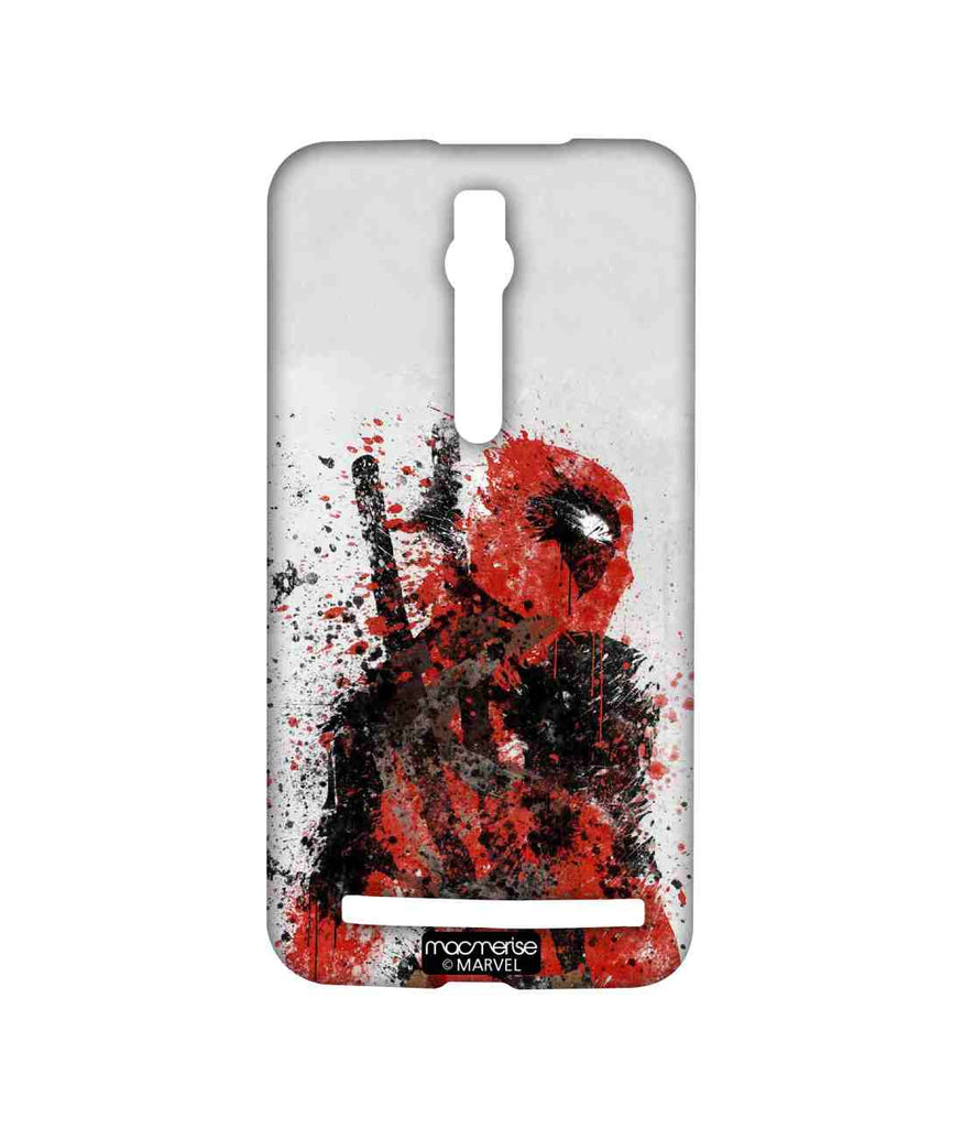 Comics Deadpool Pool Strokes Sublime Case for Asus Zenfone 2
