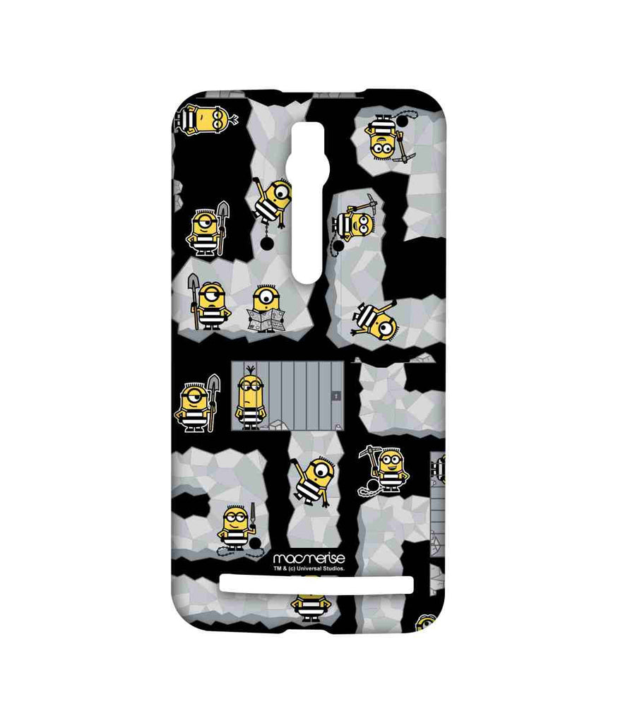 Despicable Me Minions Prison Break Black Sublime Case for Asus Zenfone 2
