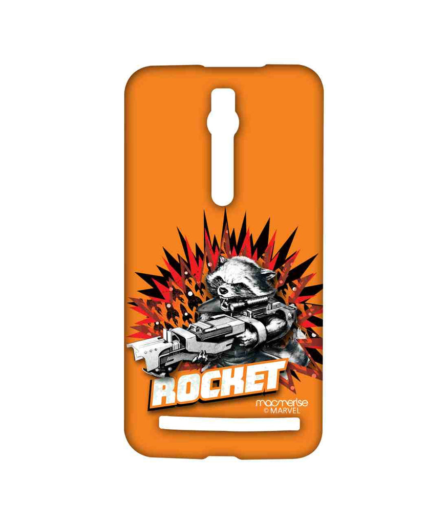 Guardians of the Galaxy Rocket Raccoon Rocket Power Sublime Case for Asus Zenfone 2