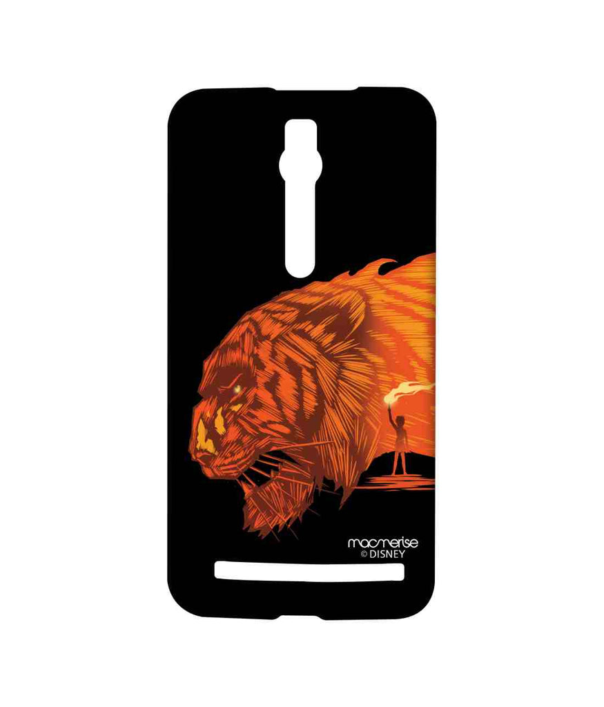 Disney The Jungle Book Share Khan and Mowgli Shere Khan Attack Sublime Case for Asus Zenfone 2