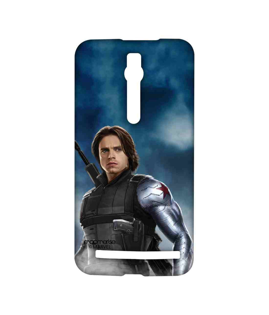 Captain America: Civil War Bucky Barnes Team Blue Bucky Sublime Case for Asus Zenfone 2